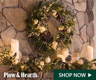 Get free shipping with purchase of $125 or more at Plow & Hearth! Use code LSFALL125